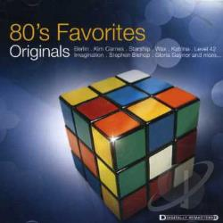 80's Favorites: Originals CD Cover Art
