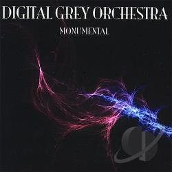 Digital Grey Orchestra - Monumental CD Cover Art