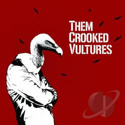 Them Crooked Vultures - Them Crooked Vultures LP Cover Art