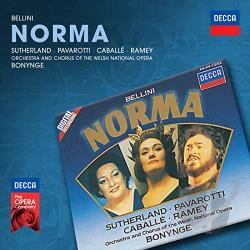 Bellini / Caball� / Pavarotti / Sutherland - Bellini: Norma CD Cover Art