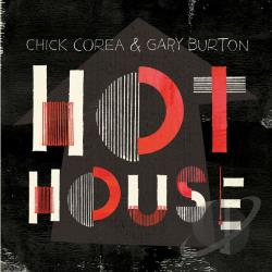 Burton, Gary / Corea, Chick - Hot House CD Cover Art