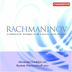 Hayroudinoff / Ivashkin, A / Rachmaninoff - Rachmaninov: Complete Works for Cello and Piano CD Cover Art