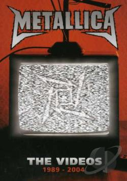 Metallica - Videos 1984-2004 DVD Cover Art