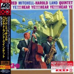 Land, Harold / Mitchell, Red / Red Mitchell-Harold Land Quintet - Hear Ye CD Cover Art