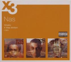 Nas - Illmatic/It Was Written/I Am CD Cover Art