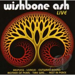 Wishbone Ash - Live CD Cover Art
