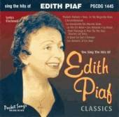 Karaoke - Karaoke: Edith Piaf CD Cover Art