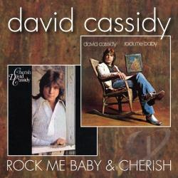 Cassidy, David - Cherish/Rock Me Baby CD Cover Art