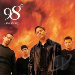 98 Degrees - 98o and Rising CD Cover Art