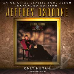 Osborne, Jeffrey - Only Human CD Cover Art