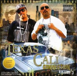 Lil' Flip / Mr. Capone-E (Rap) - Texas - Cali Connection, Vol. 3 CD Cover Art
