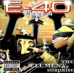 E-40 - Element of Surprise CD Cover Art