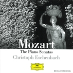 Eschenbach / Mozart - Mozart: Piano Sonatas CD Cover Art