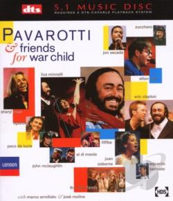 Pavarotti, Luciano & - Pavarotti & Friends for War Child DVA Cover Art