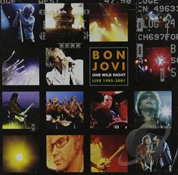 Bon Jovi - One Wild Night: Live 1985-2001 CD Cover Art