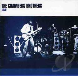 Chambers Brothers - Live CD Cover Art