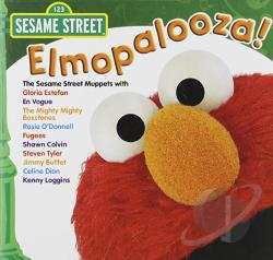 Sesame Street - Elmopalooza! CD Cover Art