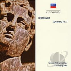 Bruckner / Solti / Vienna Phil. Orch. - Bruckner: Sym No 7 CD Cover Art