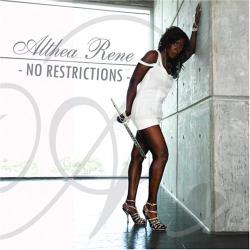 Althea Rene - No Restrictions CD Cover Art