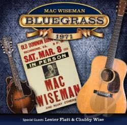 Wiseman, Mac - Bluegrass 1971 CD Cover Art