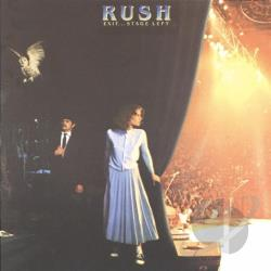 Rush - Exit...Stage Left CD Cover Art