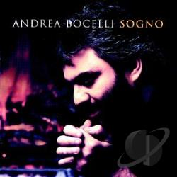 Bocelli, Andrea - Sogno CD Cover Art
