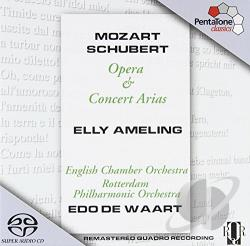 Ameling / Baldwin / English Co / Mozart / Schubert - Mozart, Schubert: Opera & Concert Arias CD Cover Art