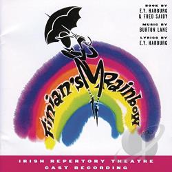 Irish Repertory Theatre Cast - Finian's Rainbow (Irish Repertory Theatre Cast Recording) CD Cover Art