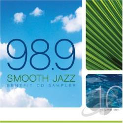 KWJZ 98.9 Smooth Jazz Vol. 10 CD Cover Art