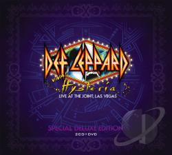 Def Leppard – Viva! Hysteria: Live at the Joint, Las Vegas (2 CD + DVD)