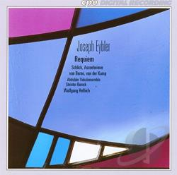 Alsfeder Vokalensemble / Eyeler / Hebich - Joseph Eybler: Requiem In C Minor CD Cover Art