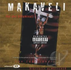 Makaveli / Tupac - 7 Day Theory CD Cover Art