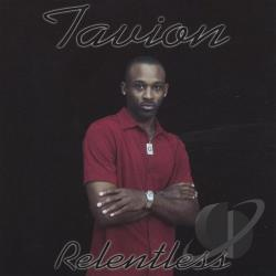 TAVION - Relentless CD Cover Art