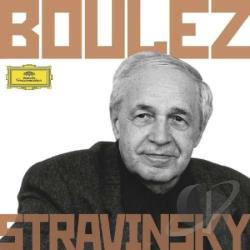 Boulez, Pierre - Boulez Conducts Stravinsky CD Cover Art