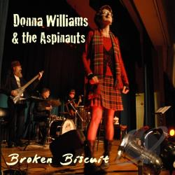 Donna Williams and The Aspinauts - Broken Biscuit CD Cover Art