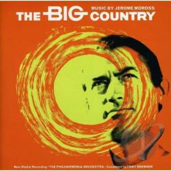 Philharmonia Orchestra - Big Country Music By Jerome Moross CD Cover Art