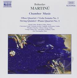 Martinu - Martinu: Chamber Music CD Cover Art