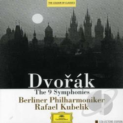 Bpo / Dvorak / Kubelik - Dvorak: The Nine Symphonies CD Cover Art