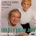 Dello Joio / Torok - Dello Joio: Complete works for piano, Vol.2 CD Cover Art