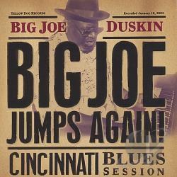 Duskin, Big Joe - Big Joe Jumps Again! Cincinnati Blues Session CD Cover Art