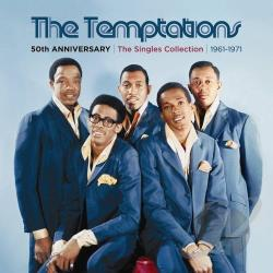 Temptations - 50th Anniversary: The Singles Collection 1961-1971 CD Cover Art