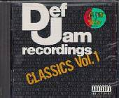 Def Jam Classics Vol. 1 CD Cover Art