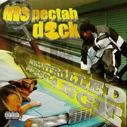 Inspectah Deck - Uncontrolled Substance CD Cover Art