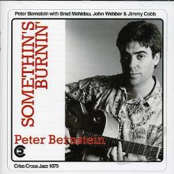 Bernstein, Peter - Somethin's Burnin' CD Cover Art