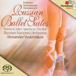 Prokofiev / Russian Nat'L Orchestra / Vedernikov - Russian Ballet Suites CD Cover Art