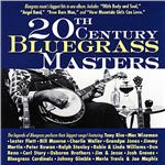 20th Century Bluegrass Masters CD Cover Art