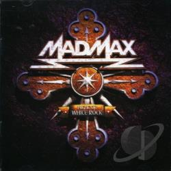 Night Of White Rock - Mad Max CD Cover Art