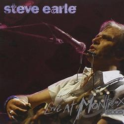 Earle, Steve - Live at Montreux 2005 CD Cover Art
