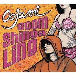 Oojami - Boom Shinga Ling CD Cover Art