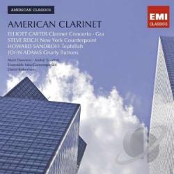 American Clarinet CD Cover Art
